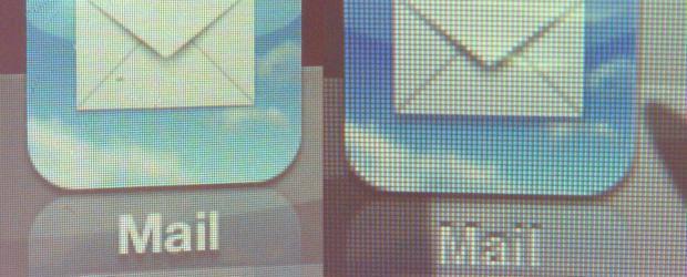 Retina Display: Porównanie ekranów iPhone 4 oraz iPhone 3GS